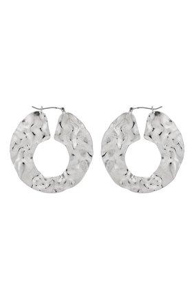 Женские серьги EXCLAIM серебряного цвета, арт. 035S2639E | Фото 1