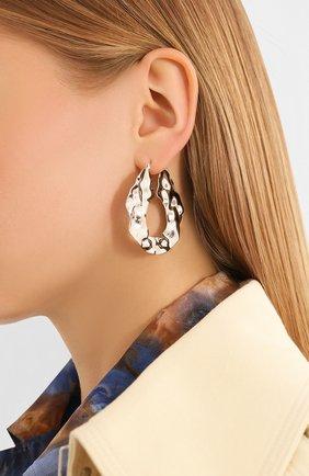 Женские серьги EXCLAIM серебряного цвета, арт. 035S2639E | Фото 2