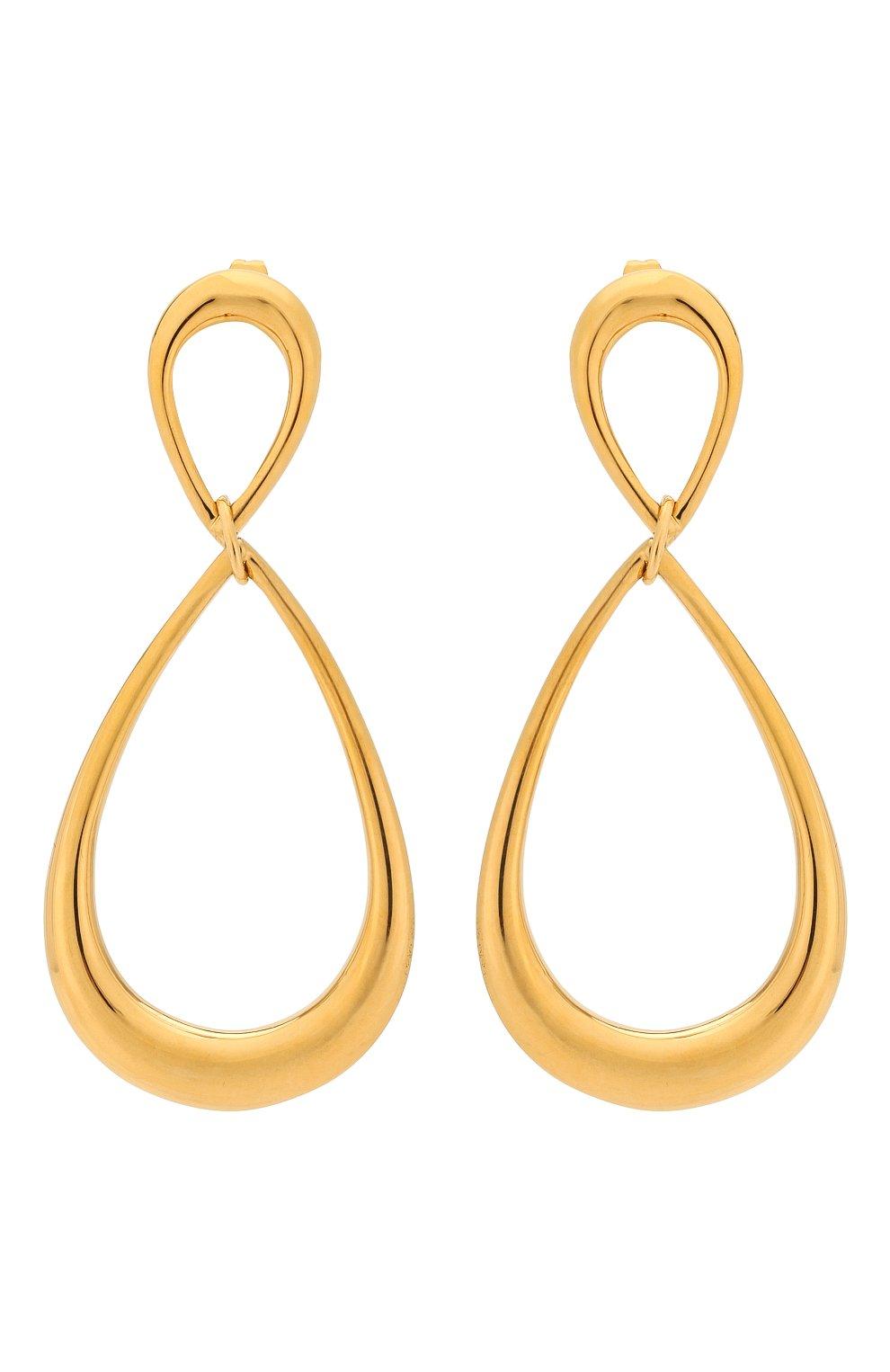 Женские серьги EXCLAIM золотого цвета, арт. 037G2816E   Фото 1