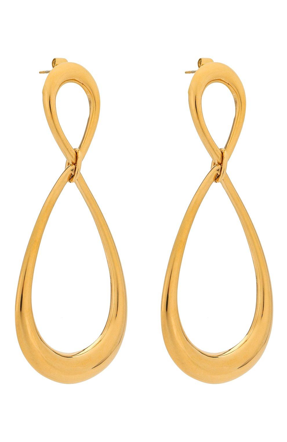 Женские серьги EXCLAIM золотого цвета, арт. 037G2816E   Фото 3