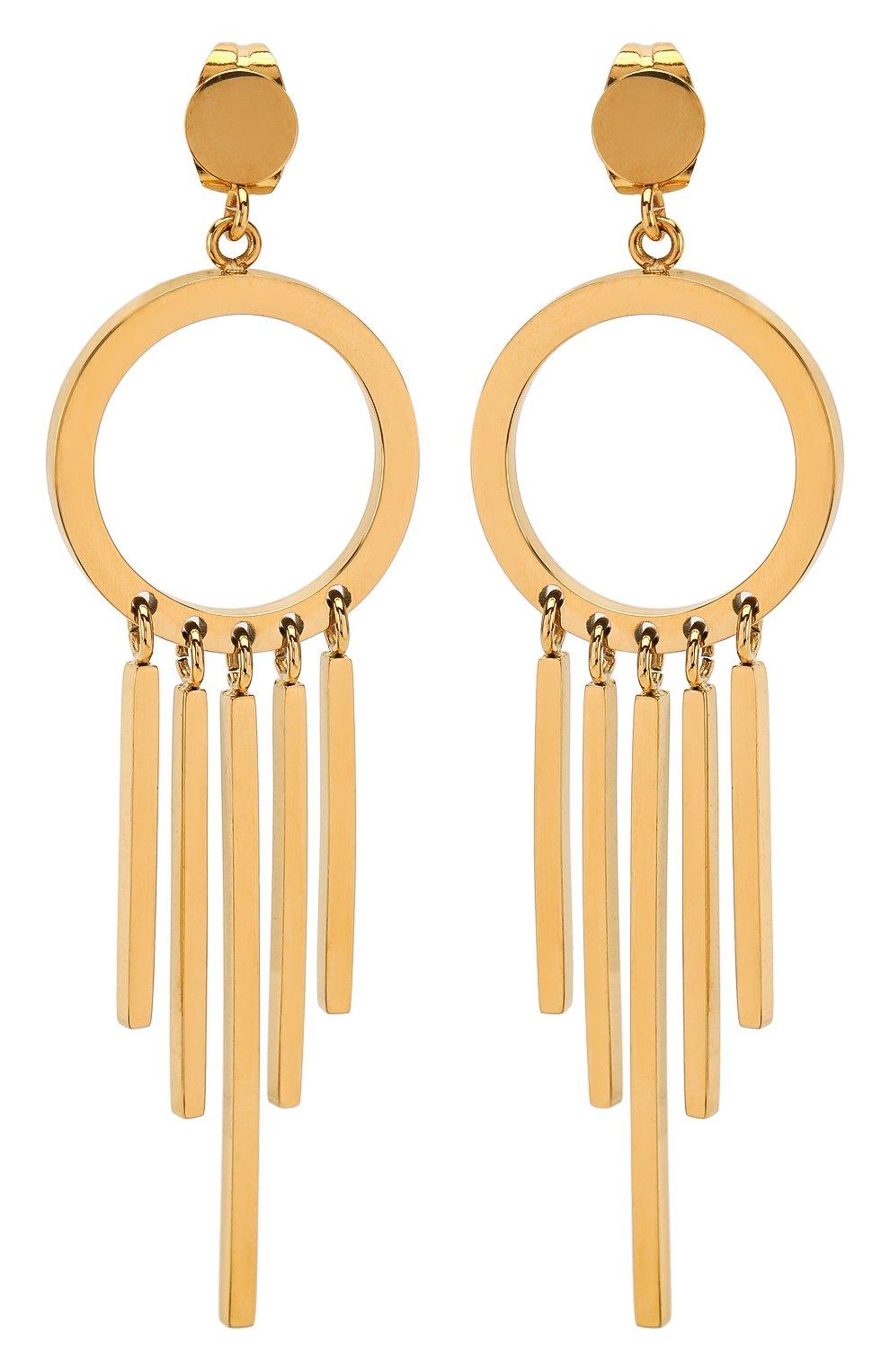 Женские серьги EXCLAIM золотого цвета, арт. 037G2802E | Фото 1