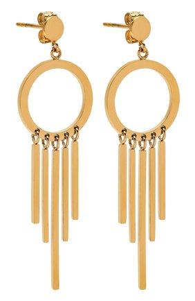 Женские серьги EXCLAIM золотого цвета, арт. 037G2802E | Фото 3