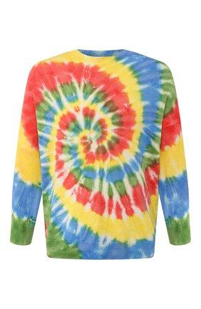 Мужской хлопковый свитер loewe x paula's ibiza LOEWE разноцветного цвета, арт. H616333X12 | Фото 1