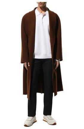 Мужские джинсы CANALI черного цвета, арт. 91700/PD00018 | Фото 2