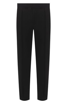 Мужской брюки NEIL BARRETT черного цвета, арт. PBPA799/P009 | Фото 1
