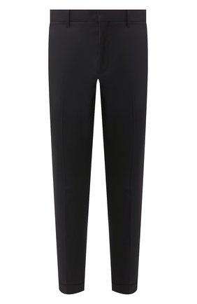 Мужской брюки NEIL BARRETT темно-синего цвета, арт. PBPA488/P026 | Фото 1