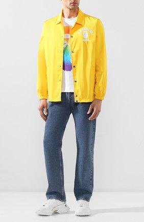 Мужская куртка BAPE желтого цвета, арт. 1G30140015   Фото 2