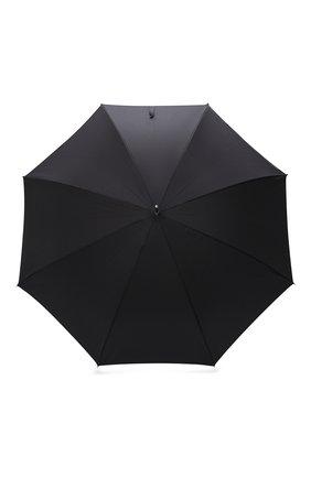 Мужской зонт-трость PASOTTI OMBRELLI черного цвета, арт. 479/RAS0 0XF0RD/18/W37 | Фото 1