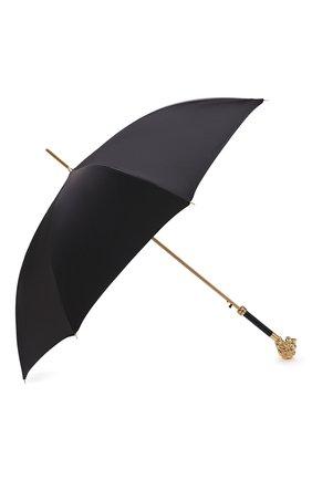 Мужской зонт-трость PASOTTI OMBRELLI черного цвета, арт. 479/RAS0 0XF0RD/18/W37 | Фото 2