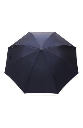 Мужской складной зонт PASOTTI OMBRELLI темно-синего цвета, арт. 64S/RAS0 0XF0RD/14/N49 | Фото 1