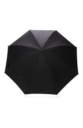 Мужской зонт-трость PASOTTI OMBRELLI черного цвета, арт. 478/RAS0 6279/1/N60 | Фото 1