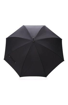 Мужской зонт-трость PASOTTI OMBRELLI темно-серого цвета, арт. 478/RAS0 6278/1/W35 | Фото 1