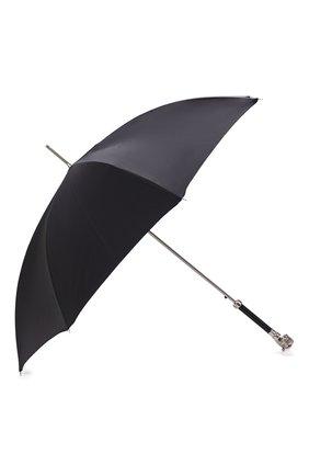 Мужской зонт-трость PASOTTI OMBRELLI темно-серого цвета, арт. 478/RAS0 6278/1/W35 | Фото 2