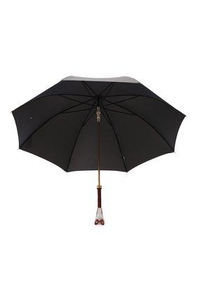 Мужской зонт-трость PASOTTI OMBRELLI хаки цвета, арт. 479/RAS0 0XF0RD/10/K48 | Фото 3