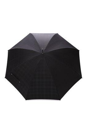 Мужской зонт-трость PASOTTI OMBRELLI черного цвета, арт. 478/RAS0 6434/19/W01 | Фото 1