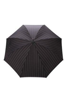 Мужской зонт-трость PASOTTI OMBRELLI черного цвета, арт. 478/RAS0 1094/1/M31 | Фото 1
