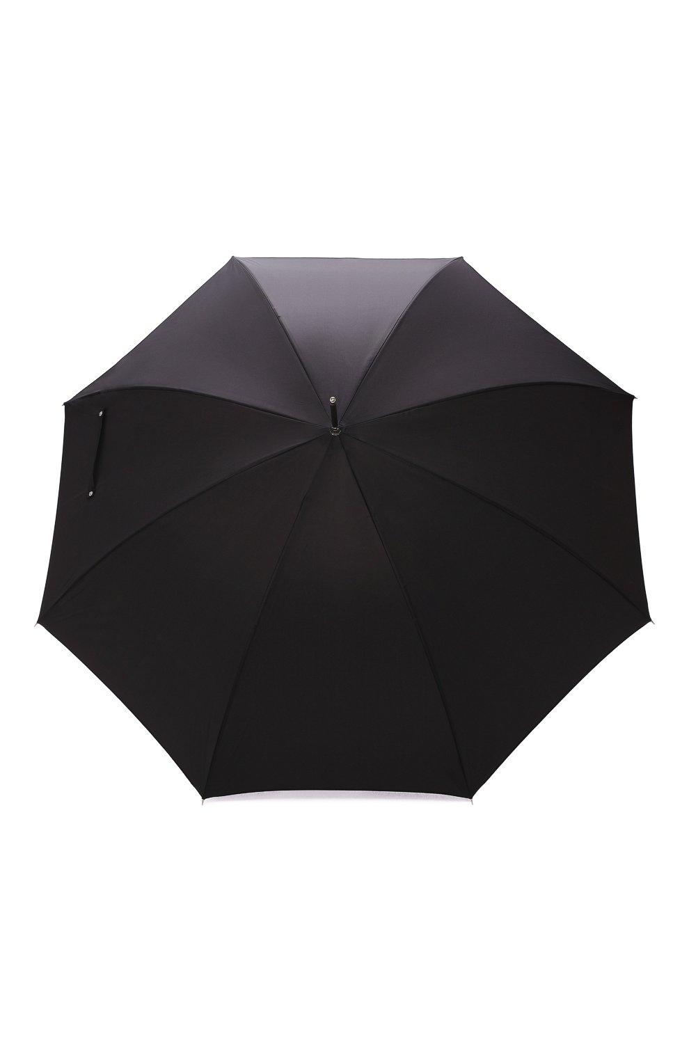 Мужской зонт-трость PASOTTI OMBRELLI черного цвета, арт. 478/RAS0 0XF0RD/18/K60 | Фото 1