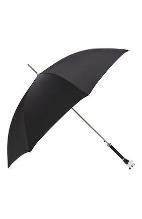 Мужской зонт-трость PASOTTI OMBRELLI черного цвета, арт. 478/RAS0 0XF0RD/18/K60 | Фото 2