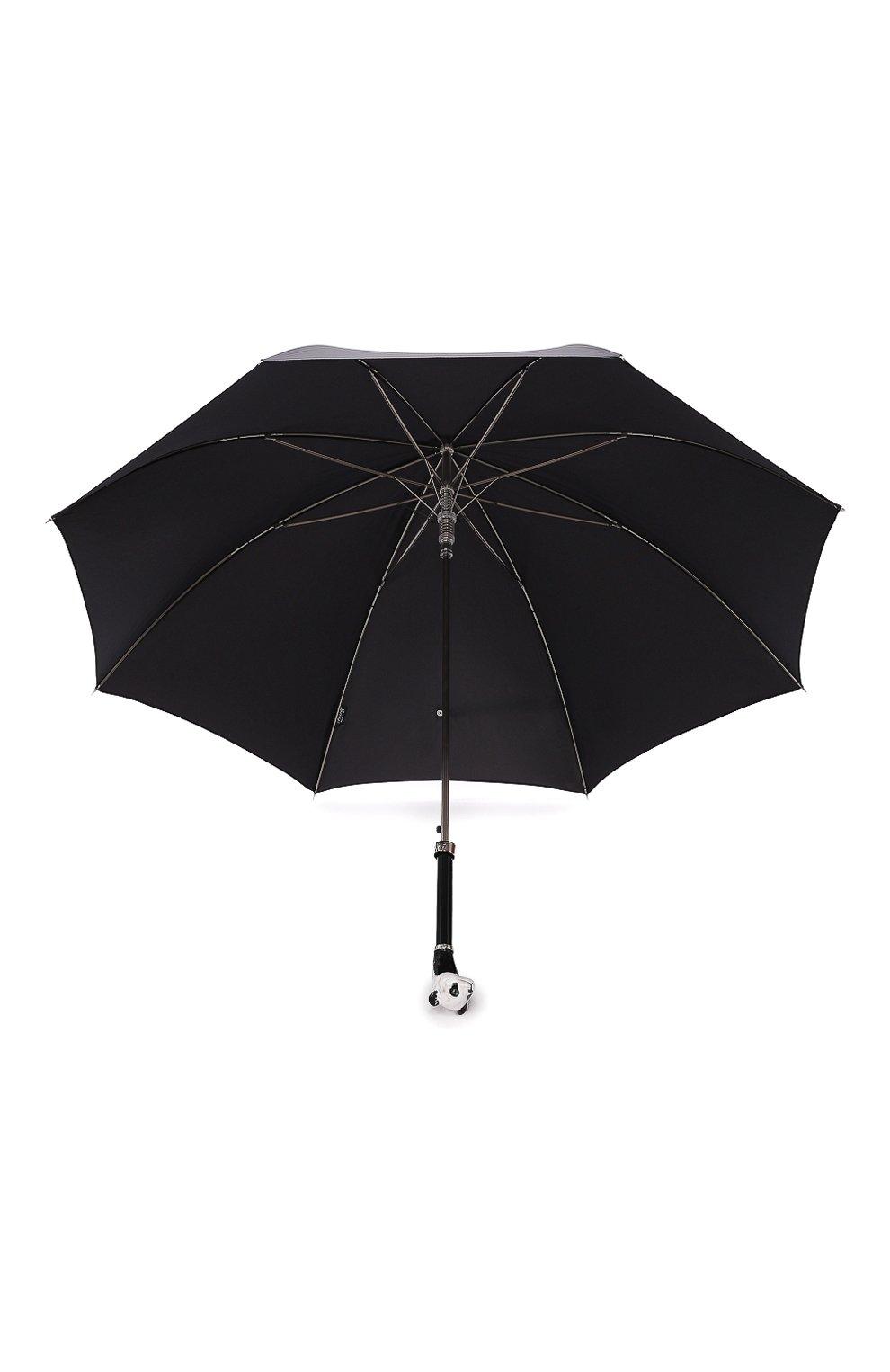 Мужской зонт-трость PASOTTI OMBRELLI черного цвета, арт. 478/RAS0 0XF0RD/18/K60 | Фото 3