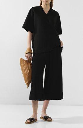 Женская футболка HYKE черного цвета, арт. 15102 | Фото 2