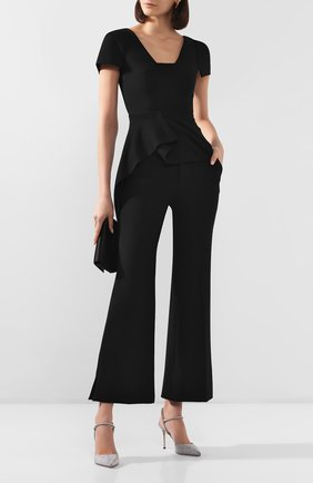 Женские брюки ROLAND MOURET черного цвета, арт. EW20/S0511/F2196 | Фото 2