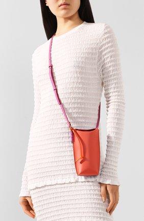Женская сумка gate pocket loewe x paula's ibiza LOEWE оранжевого цвета, арт. C650Z42X20   Фото 2