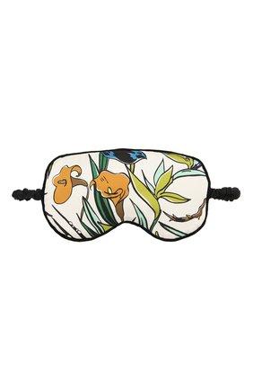 Женские шелковая маска для сна OLIVIA VON HALLE разноцветного цвета, арт. PS2074 | Фото 1