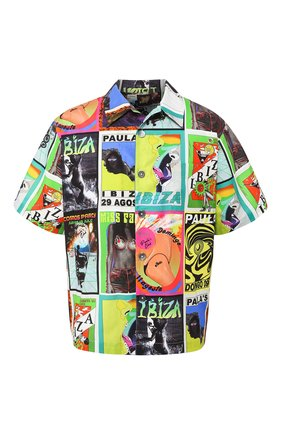 Мужская хлопковая рубашка loewe x paula's ibiza LOEWE разноцветного цвета, арт. H616337X03 | Фото 1