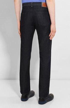Мужские джинсы CANALI черного цвета, арт. 91770/PD00018 | Фото 4
