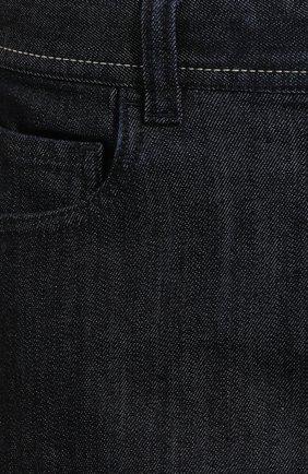 Мужские джинсы CANALI черного цвета, арт. 91770/PD00018 | Фото 5