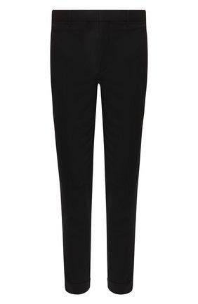 Мужской брюки NEIL BARRETT черного цвета, арт. PBPA488/P026 | Фото 1