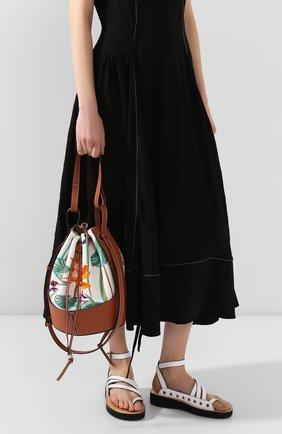 Женская сумка balloon medium loewe x paula's ibiza  LOEWE разноцветного цвета, арт. A710AC3X05   Фото 2