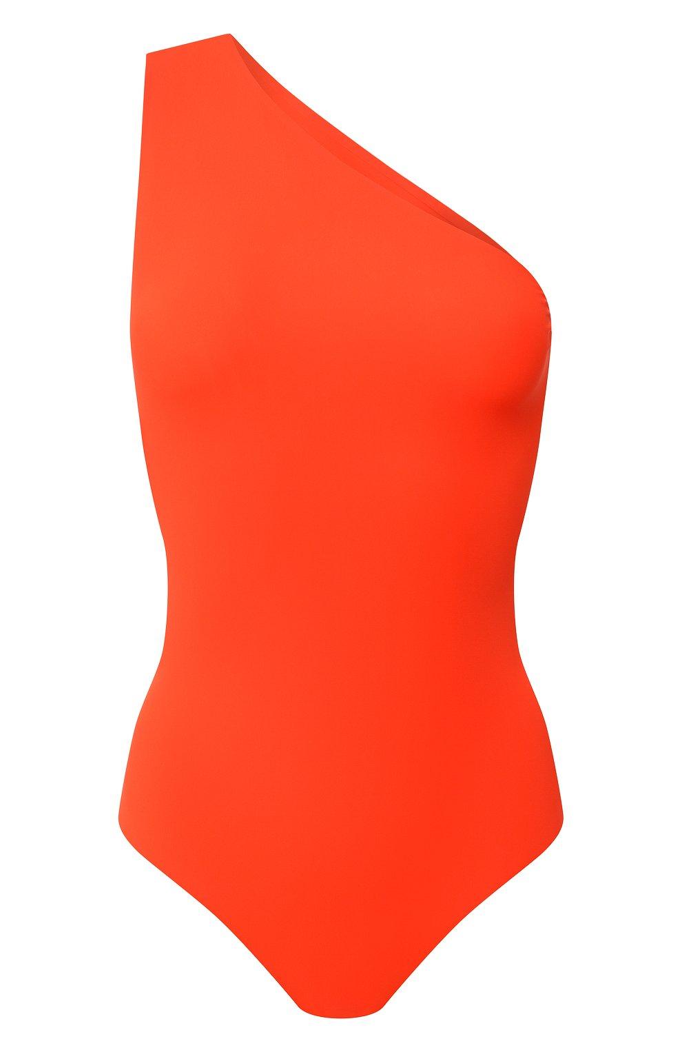 Женский слитный купальник BOTTEGA VENETA оранжевого цвета, арт. 625517/3V944 | Фото 1