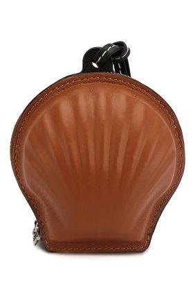 Женский клатч seashell loewe x paula's ibiza LOEWE коричневого цвета, арт. 111.10.161 | Фото 1