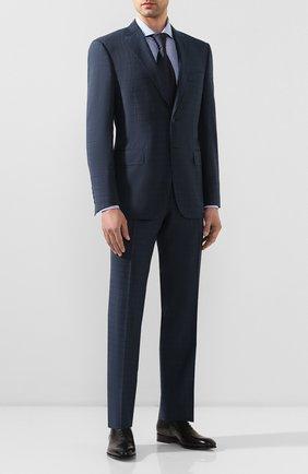 Мужской шерстяной костюм CANALI синего цвета, арт. 13290/31/BF02565 | Фото 1