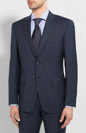 Мужской шерстяной костюм CANALI синего цвета, арт. 13290/31/BF02565 | Фото 2
