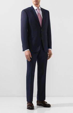 Мужской шерстяной костюм CANALI темно-синего цвета, арт. 11280/19/BF02776 | Фото 1