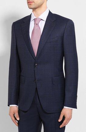 Мужской шерстяной костюм CANALI темно-синего цвета, арт. 11280/19/BF02776 | Фото 2