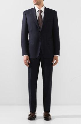 Мужской шерстяной костюм CANALI темно-синего цвета, арт. 11220/10/AR02742 | Фото 1
