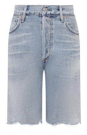 Женские джинсовые шорты CITIZENS OF HUMANITY голубого цвета, арт. 1869-991 | Фото 1