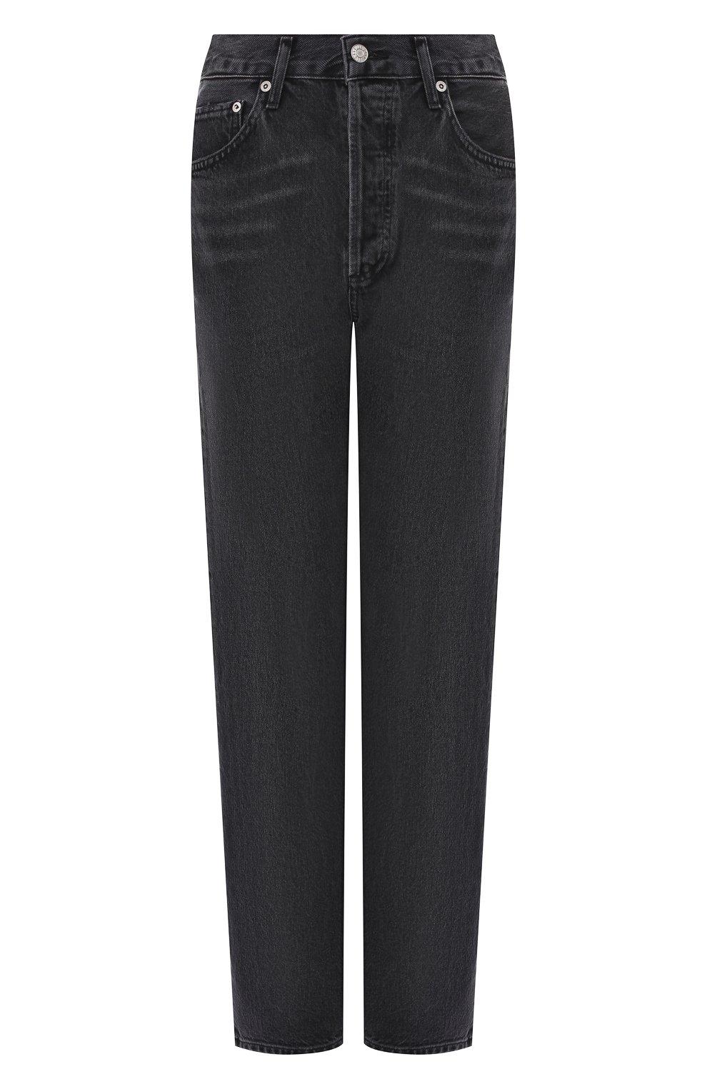 Женские джинсы AGOLDE серого цвета, арт. A069B-1157   Фото 1