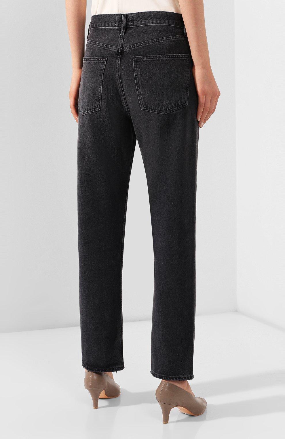 Женские джинсы AGOLDE серого цвета, арт. A069B-1157   Фото 4