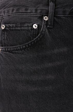Женские джинсы AGOLDE серого цвета, арт. A069B-1157   Фото 5