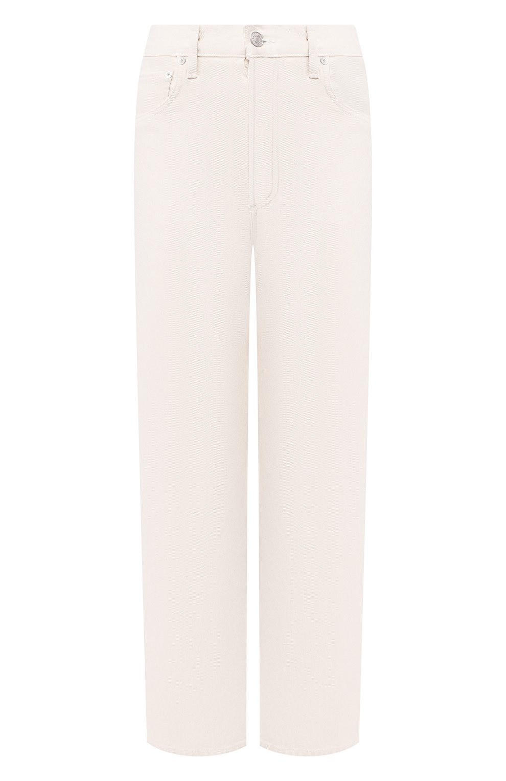 Женские джинсы AGOLDE белого цвета, арт. A117B-1183 | Фото 1