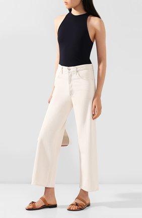 Женские джинсы AGOLDE белого цвета, арт. A117B-1183 | Фото 2