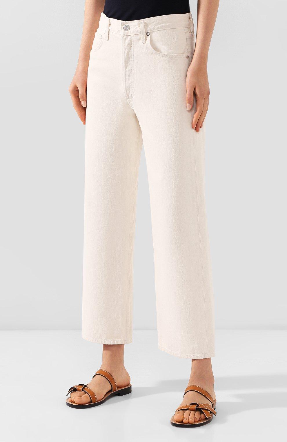Женские джинсы AGOLDE белого цвета, арт. A117B-1183 | Фото 3