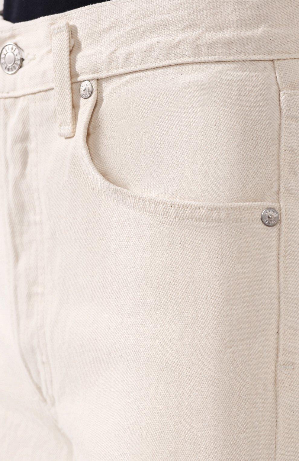 Женские джинсы AGOLDE белого цвета, арт. A117B-1183 | Фото 5