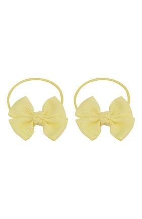 Детская комплект из двух резинок simple go JUNEFEE желтого цвета, арт. 5933 | Фото 1