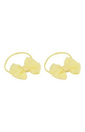 Детская комплект из двух резинок simple go JUNEFEE желтого цвета, арт. 5933 | Фото 2