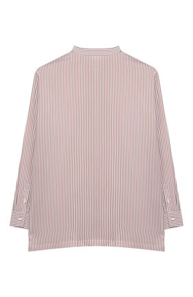 Детское шелковая блузка BRUNELLO CUCINELLI розового цвета, арт. BF771C201C | Фото 2